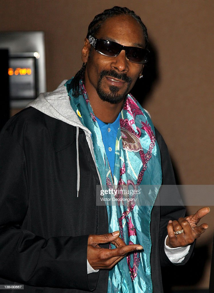 Musical Artist/Rapper Snoop Dogg arrives for the screening of 'Red Tails' at ArcLight Cinemas on January 19 2012 in Hollywood California
