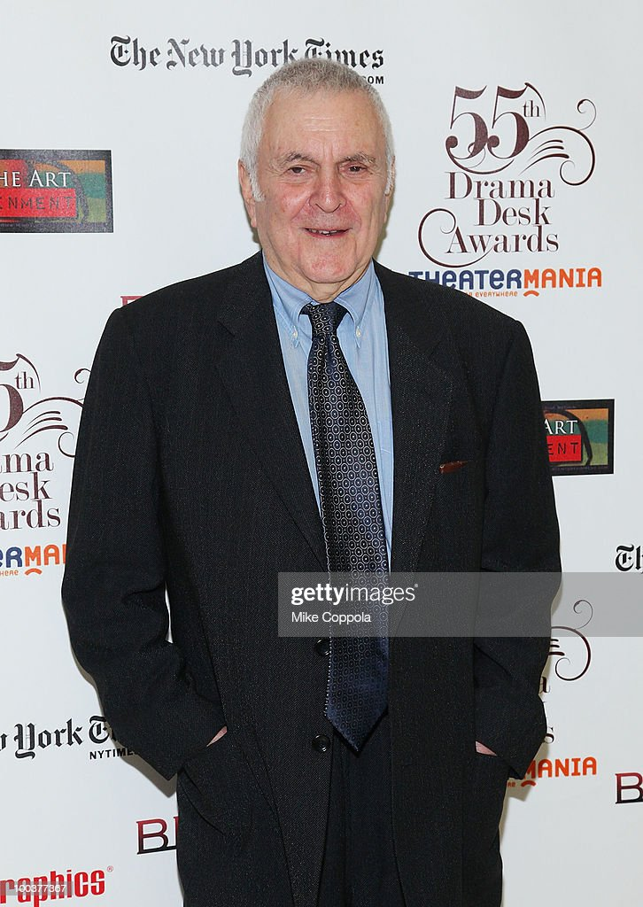 Musical composer John Kander arrives at the 55th Annual Drama Desk Awards at the FH LaGuardia Concert Hall at Lincoln Center on May 23, 2010 in New York City.