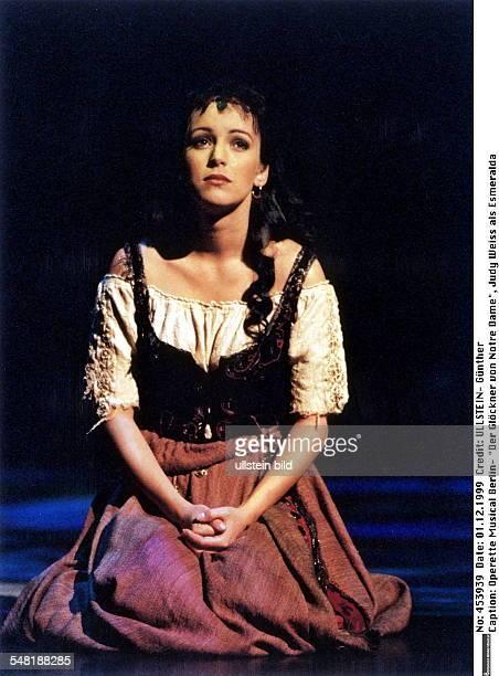 Musical 'Der Glöckner von Notre Dame' mit Judy Weiss als Esmeralda im Stella Musical Theater am Potsdamer Platz Dezember 1999
