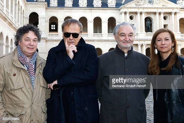 Musical direction Patrick Souillot Sets and Costumes Enki Bilal Stage Director Jacques Attali and First violin and Orchestra Director Anne Gravoin...