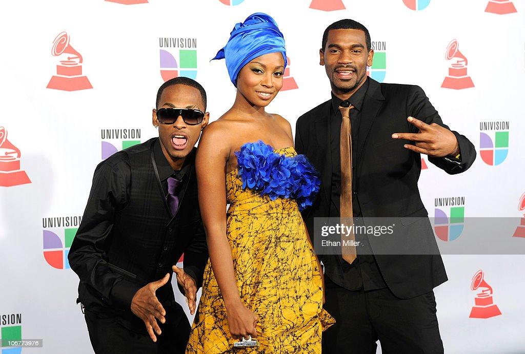 Musical group Chocquibtown arrives at the 11th annual Latin GRAMMY Awards at the Mandalay Bay Resort & Casino on November 11, 2010 in Las Vegas, Nevada.
