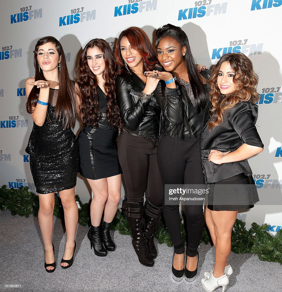Musical group Fifth Harmony attends KIIS FM's 2012 Jingle Ball at Nokia Theatre L.A. Live on December 1, 2012 in Los Angeles, California.