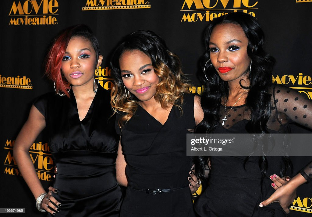 Musical group The McClain Sisters attend the 21st Annual Movieguide Awards held at the Universal Hilton Hotel on February 15, 2013 in Universal City, California.
