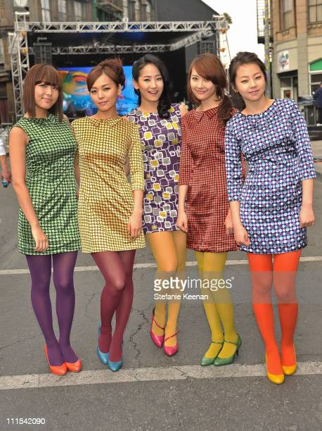 Musical group Wonder Girls attend Variety's 3rd annual 'Power of Youth' event held at Paramount Studios on December 5 2009 in Los Angeles California