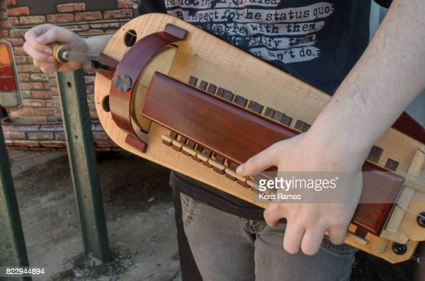 Musical instrument used by celtic earth Wheel alley