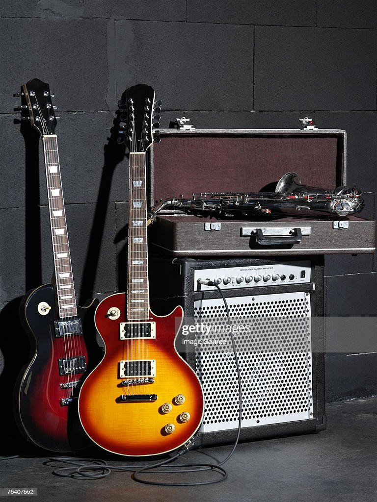 Musical instruments and amplifier