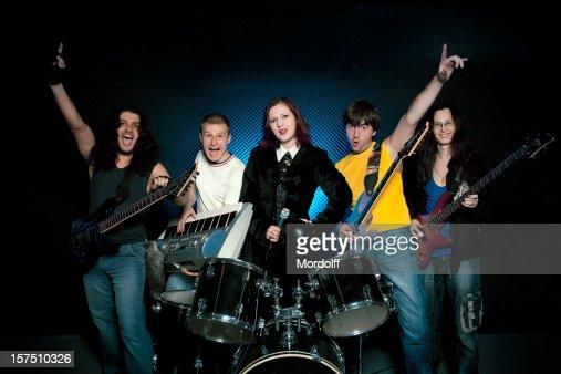 Musical rock band