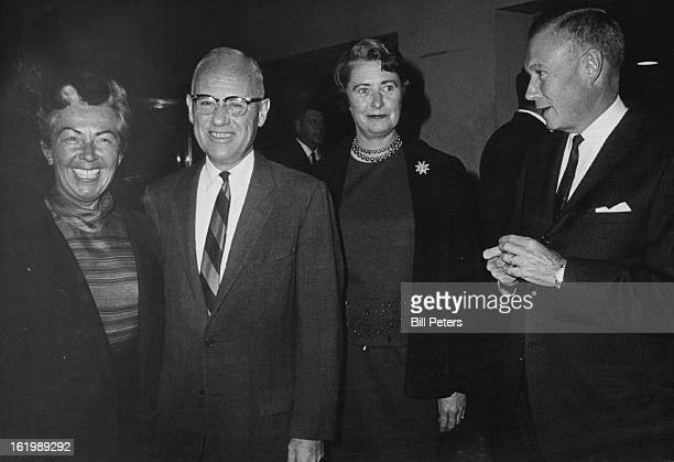 SEP 30 1964 OCT 2 1964 Musical Runs Through OCT 6 at City Auditorium Mr and Mrs Henry McLister left and Mr and Mrs Clark Blickensderfer took in...