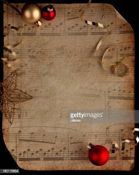 Musical Score with Texture