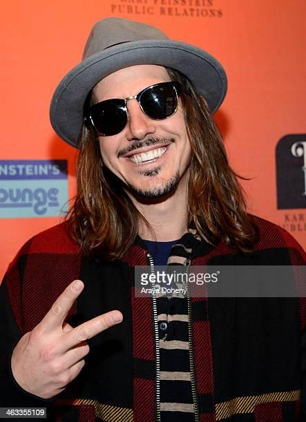 Musican Cisco Adler attends the Kari Feinstein Style Lounge on January 17 2014 in Park City Utah