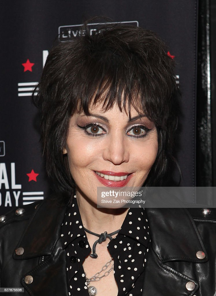 Musican Joan Jett attends 2nd Annual National Concert Day Show at Irving Plaza on May 3, 2016 in New York City.