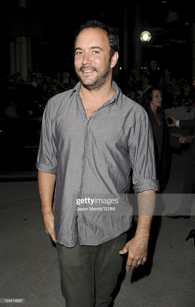 Musican/actor Dave Mathews arrives at 'Ides Of March' Premiere at Roy Thomson Hall during the 2011 Toronto International Film Festival on September 9, 2011 in Toronto, Canada.
