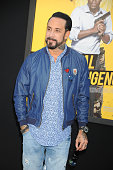 Musician A J McLean attends the Warner Bros Pictures premiere of 'Central Intelligence' held at Regency Village Theater on June 10 2016 in Westwood...