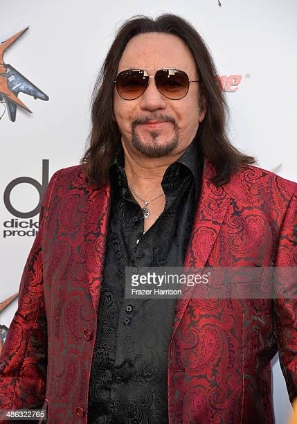 Musician Ace Frehley attends the 6th Annual Revolver Golden Gods Award Show at Club Nokia on April 23 2014 in Los Angeles California