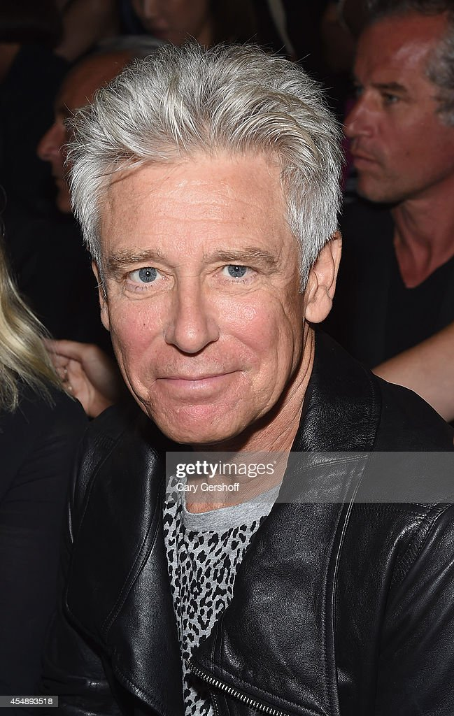 Musician Adam Clayton of U2 attends Edun during MercedesBenz Fashion Week Spring 2015 at Skylight Modern on September 7 2014 in New York City