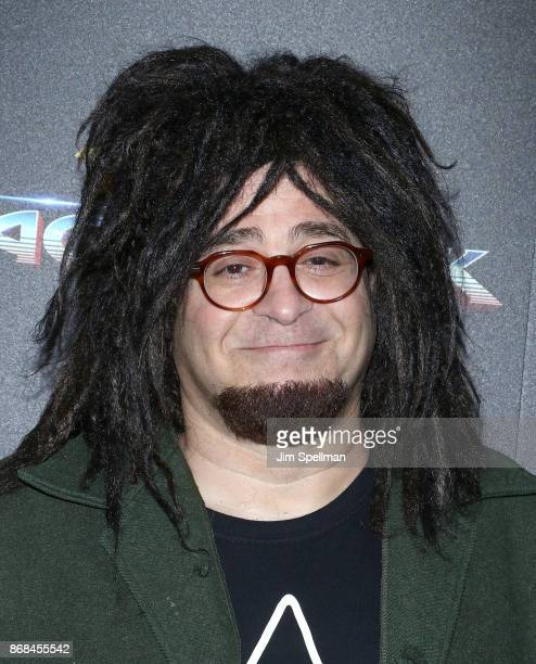 Musician Adam Duritz attends the screening of Marvel Studios' 'Thor Ragnarok' hosted by The Cinema Society with FIJI Water Men's Journal and...
