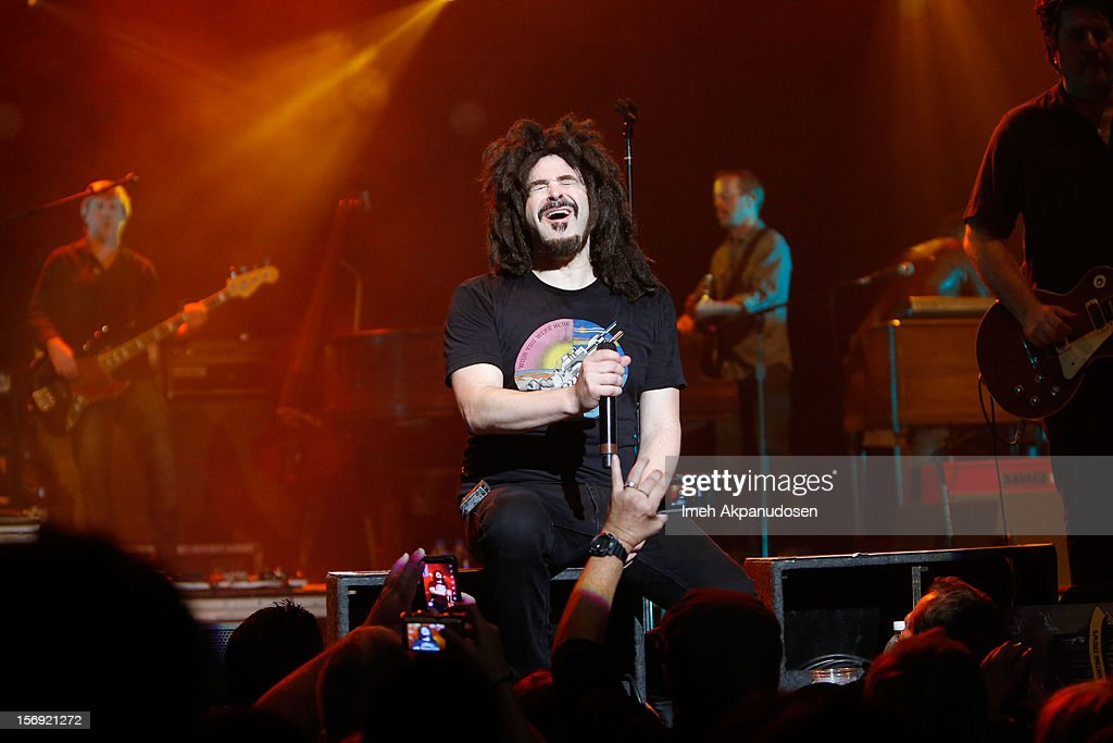 Musician <a gi-track='captionPersonalityLinkClicked' href=/galleries/search?phrase=Adam+Duritz&family=editorial&specificpeople=207121 ng-click='$event.stopPropagation()'>Adam Duritz</a> of Counting Crows performs onstage at The Wiltern on November 24, 2012 in Los Angeles, California.