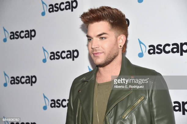 Musician Adam Lambert at the 2017 ASCAP Pop Awards at The Wiltern on May 18 2017 in Los Angeles California