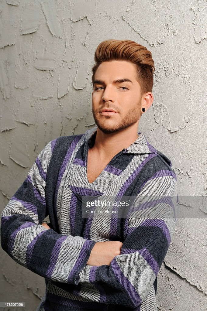 Musician <a gi-track='captionPersonalityLinkClicked' href=/galleries/search?phrase=Adam+Lambert&family=editorial&specificpeople=5706674 ng-click='$event.stopPropagation()'>Adam Lambert</a> is photographed for Los Angeles Times on May 14, 2015 in Los Angeles, California. PUBLISHED