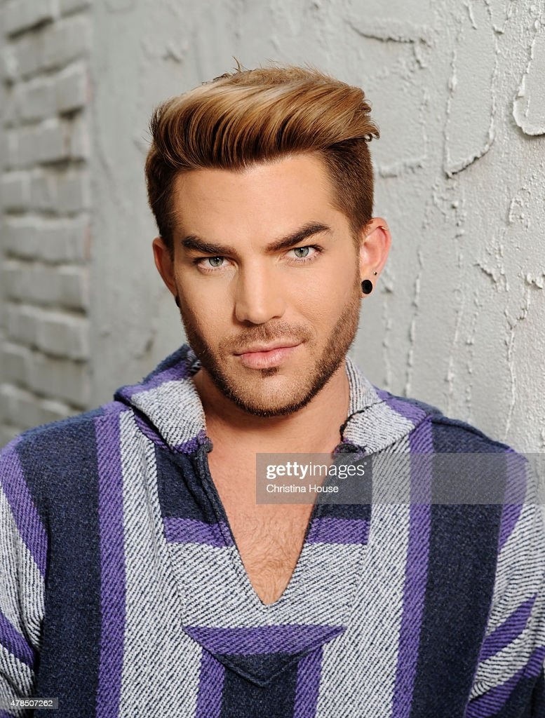Musician <a gi-track='captionPersonalityLinkClicked' href=/galleries/search?phrase=Adam+Lambert&family=editorial&specificpeople=5706674 ng-click='$event.stopPropagation()'>Adam Lambert</a> is photographed for Los Angeles Times on May 14, 2015 in Los Angeles, California. PUBLISHED IMAGE.