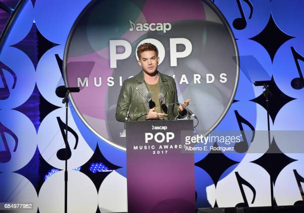 Musician Adam Lambert speaks onstage at the 2017 ASCAP Pop Awards at The Wiltern on May 18 2017 in Los Angeles California