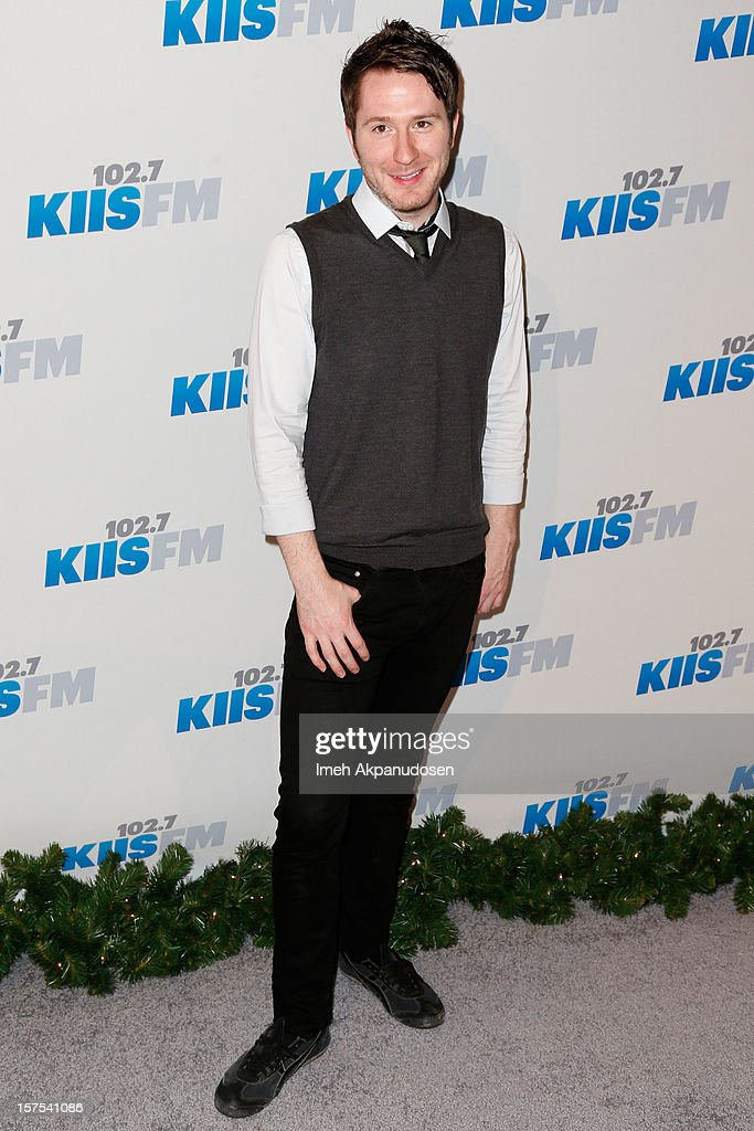 Musician Adam Young of Owl City attends KIIS FM's 2012 Jingle Ball at Nokia Theatre L.A. Live on December 3, 2012 in Los Angeles, California.