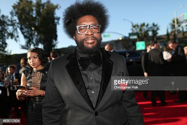 Musician Ahmir 'Questlove' Thompson attends The 57th Annual GRAMMY Awards at the STAPLES Center on February 8 2015 in Los Angeles California