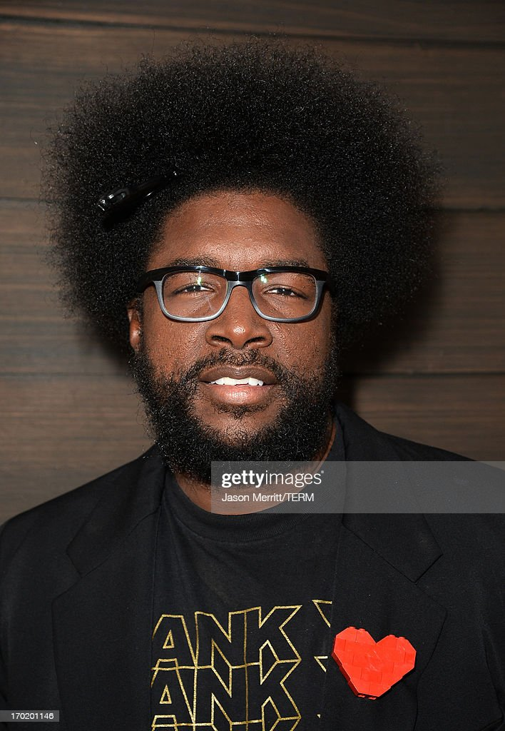 Musician Ahmir 'Questlove' Thompson of The Roots attends Spike TV's 'Guys Choice 2013' at Sony Pictures Studios on June 8, 2013 in Culver City, California.