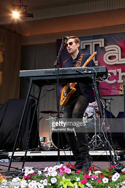 Musician AJ Jackson from Saint Motel performs at the Petrillo Music Shell during the 35th Annual 'Taste Of Chicago' on July 08 2015 in Chicago...