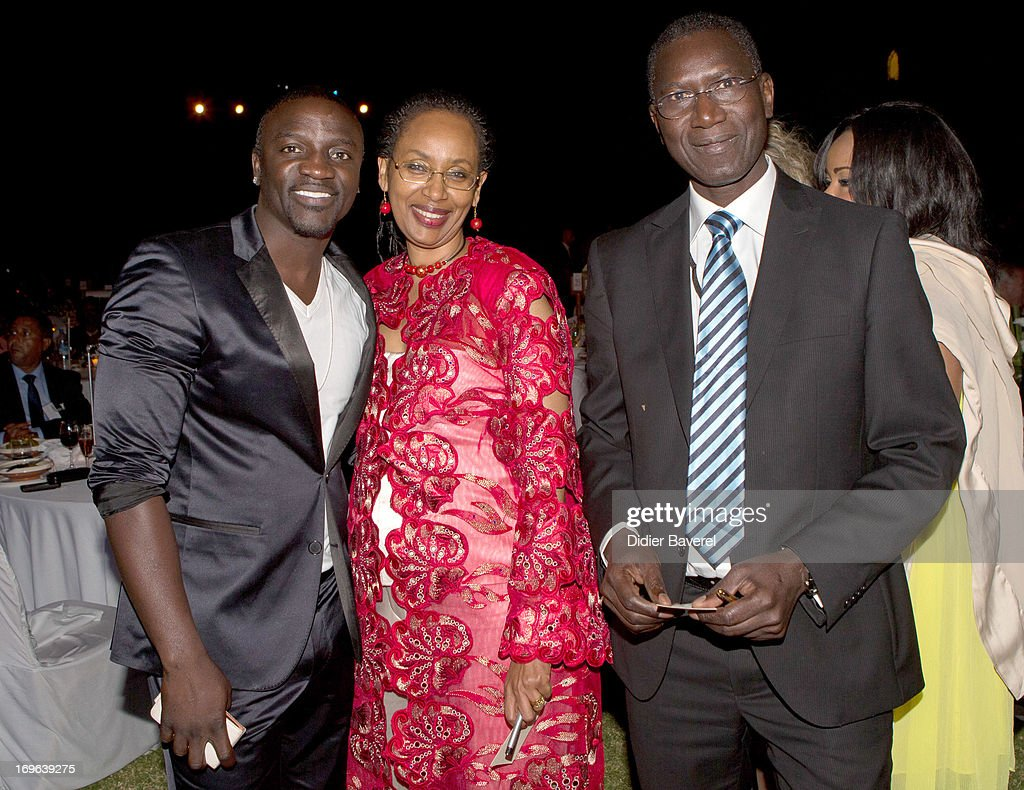 Musician Akon at the IC Banker of the Year Awardsat the Taj Palace on May 29, 2013 in Marrakech, Morocco.