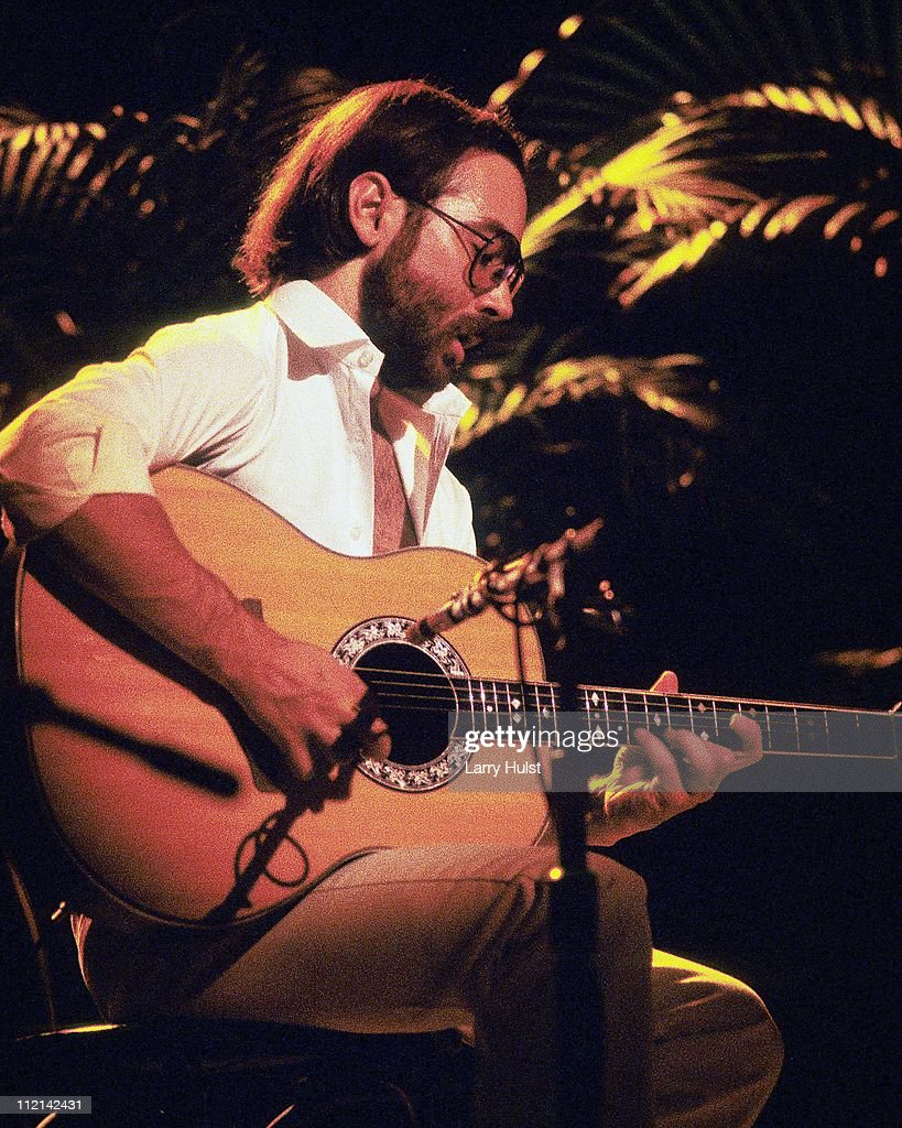 Musician Al DiMeola Performs along with John McLaughlin and Paco De Lucia at the Warfield Theater in San Francisco California on December 5 1981