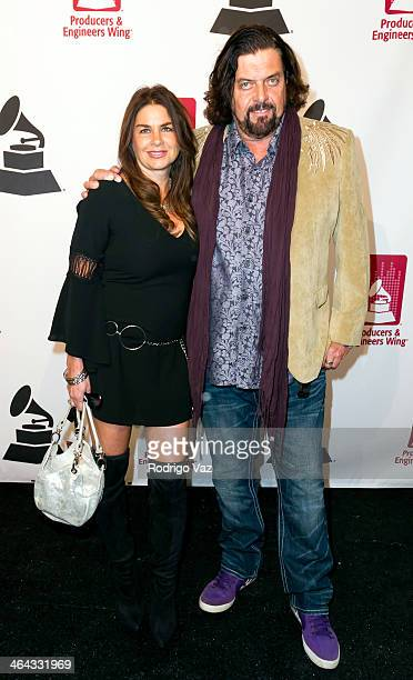 Musician Alan Parsons and Lisa Parsons attend The Recording Academy Producers Engineers Wing presents 7th Annual GRAMMY Week Event honoring Neil...