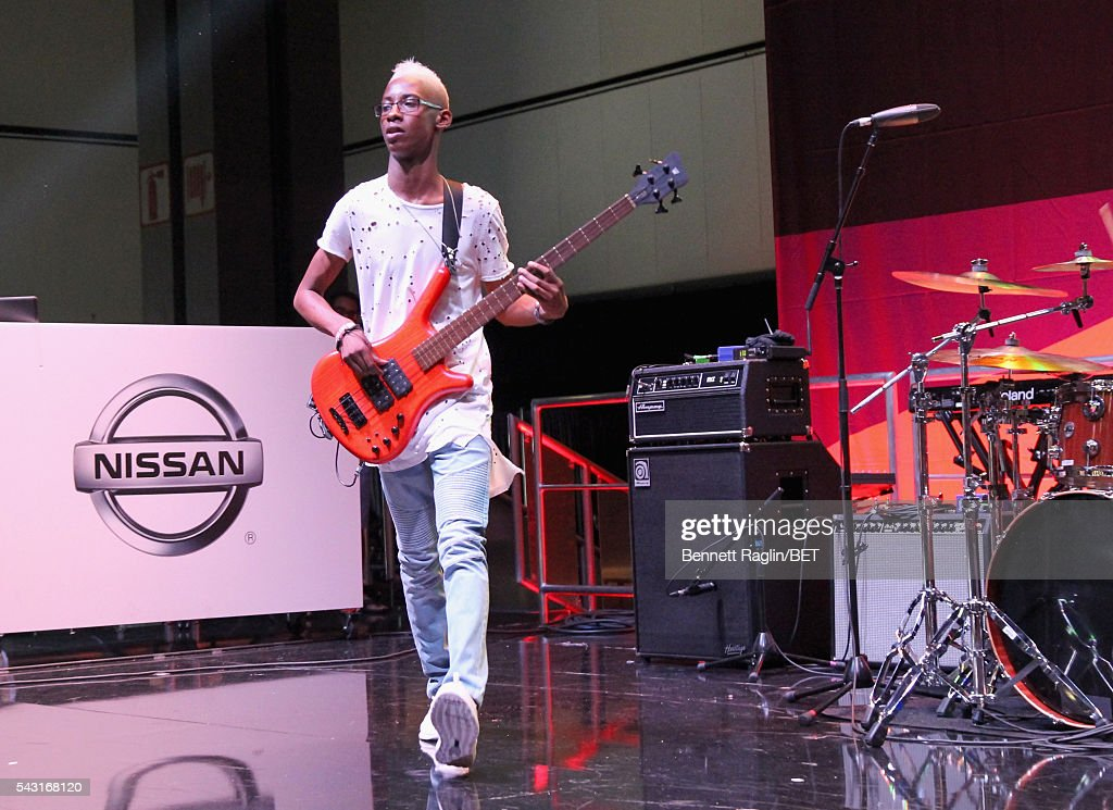 Musician Alec Atkins of Unlocking the Truth performs on the BETX stage during the 2016 BET Experience on June 26, 2016 in Los Angeles, California.