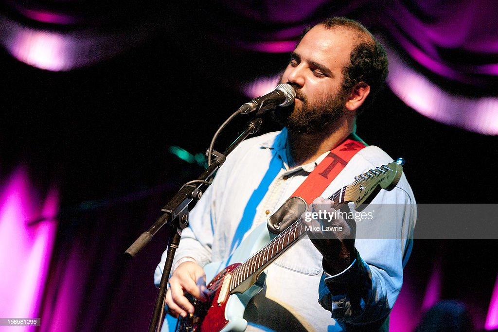 Musician Alex Bleeker of Alex Bleeker and The Freaks performs at Brooklyn Bowl on December 19, 2012 in New York City.