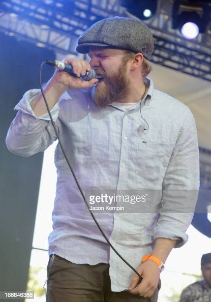 Musician Alex Clare performs onstage during day 3 of the 2013 Coachella Valley Music And Arts Festival at The Empire Polo Club on April 14 2013 in...