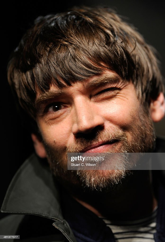 Musician Alex James walks the runway at the Oliver Spencer show during The London Collections: Men Autumn/Winter 2014 on January 8, 2014 in London, England.