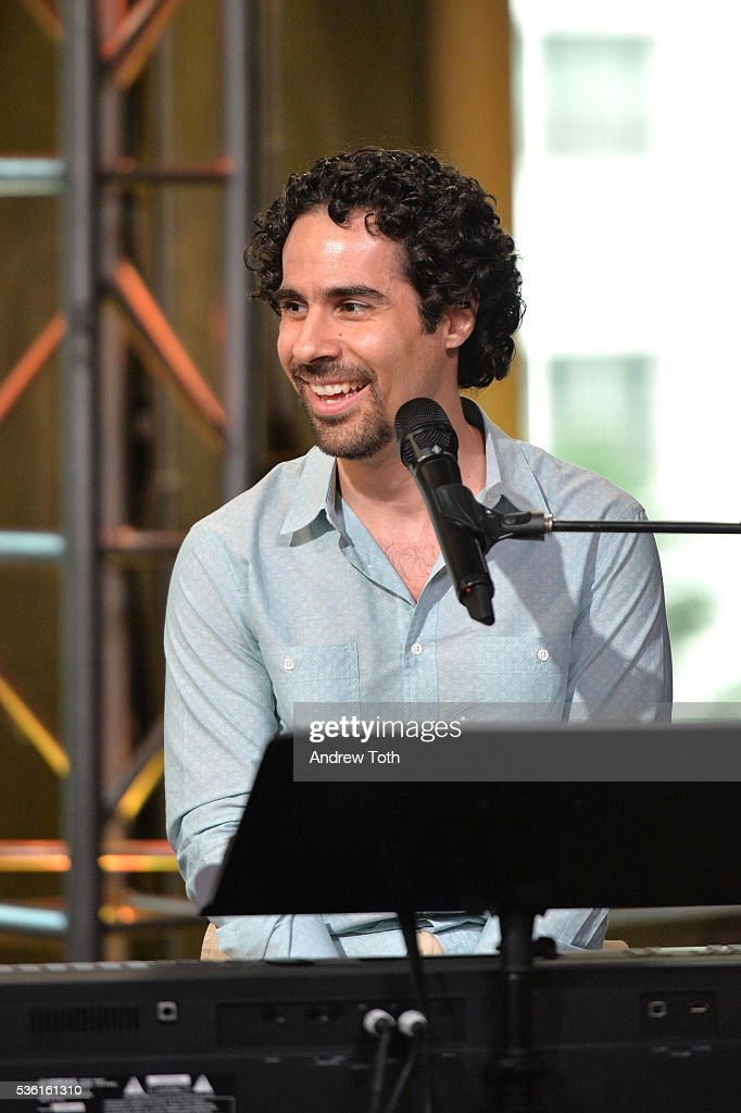 Musician Alex Lacamoire performs during AOL Build Speaker Series Alex Lacamoire 'Hamilton' at AOL Studios In New York on May 31, 2016 in New York City.