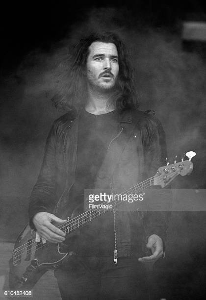 Musician Alex LeCavalier of Third Eye Blind performs on Downtown Stage during day 3 of the 2016 Life Is Beautiful festival on September 25 2016 in...