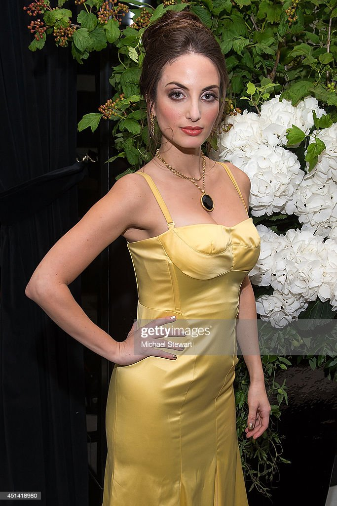 Musician Alexa Ray Joel poses for a photo after her performance at The Carlyle on June 28, 2014 in New York City.
