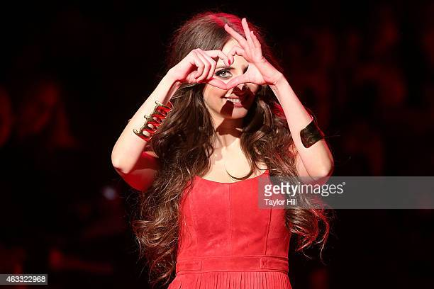Musician Alexa Ray Joel walks the runway during the Go Red For Women fall 2015 fashion show on February 12 2015 in New York City