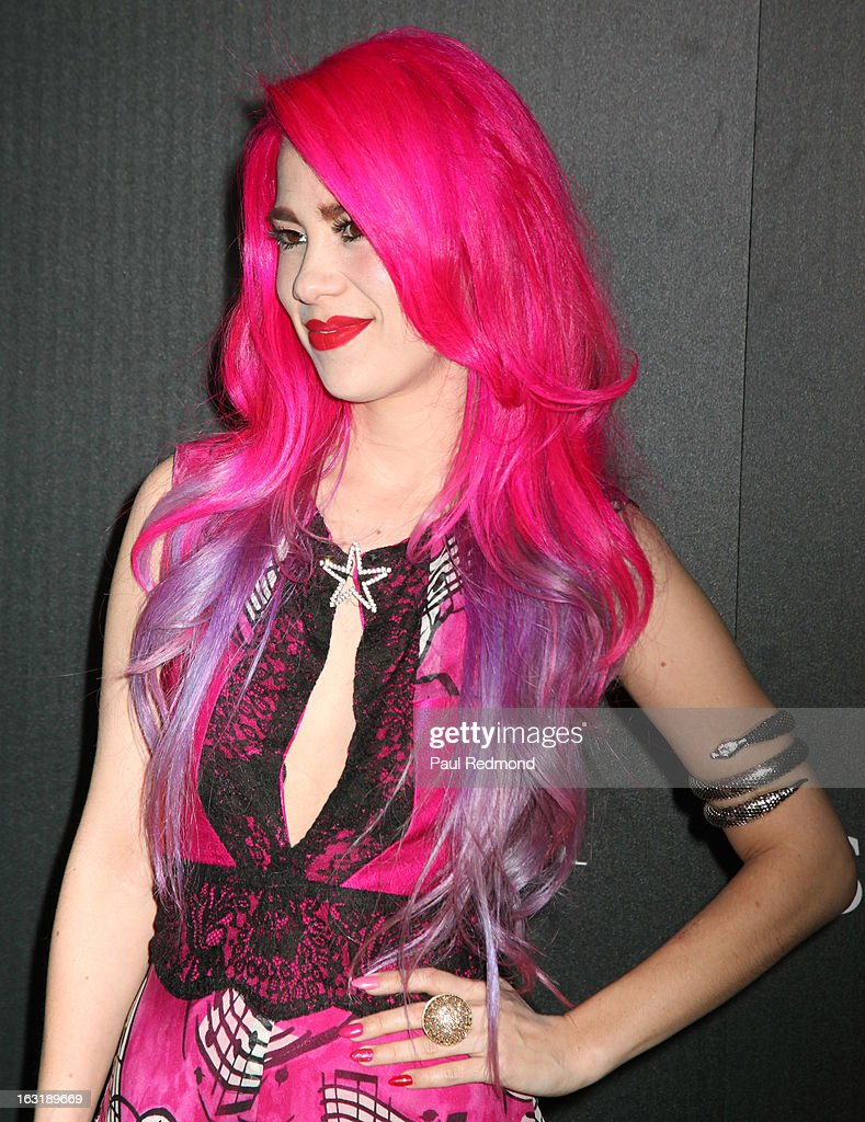 Musician Alexandra Starlight arrives at 'L.A.Frock Stars' - Los Angeles Screening at LACMA on March 5, 2013 in Los Angeles, California.