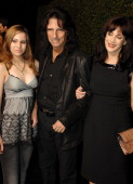 Musician Alice Cooper and guests arrives at the 2007 Spike TV Scream Awards at The Greek Theater on October 19 2007 in Los Angeles California