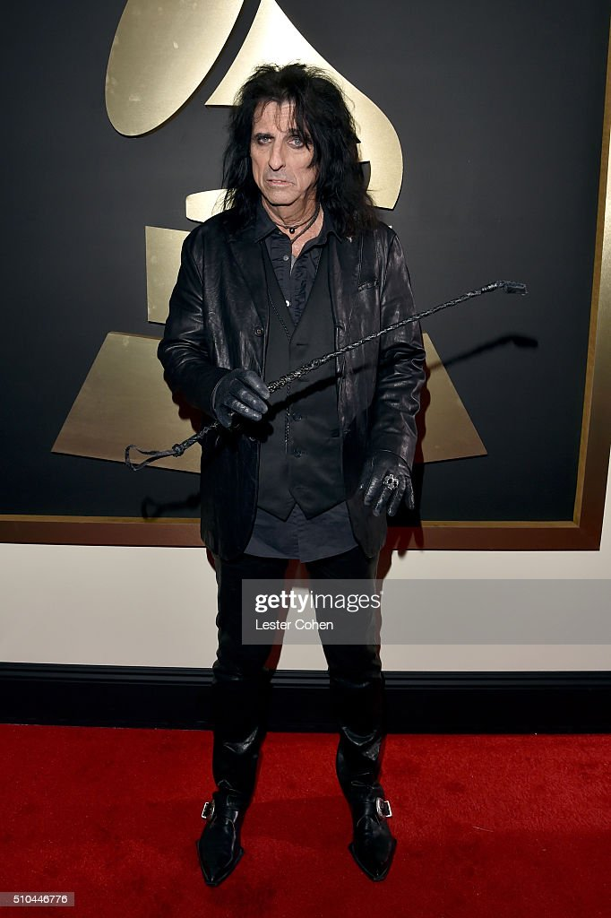 Musician Alice Cooper attends The 58th GRAMMY Awards at Staples Center on February 15, 2016 in Los Angeles, California.