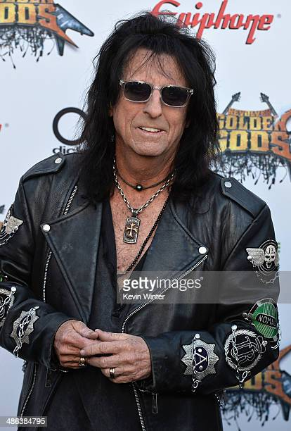 Musician Alice Cooper attends the 6th Annual Revolver Golden Gods Award Show at Club Nokia on April 23 2014 in Los Angeles California