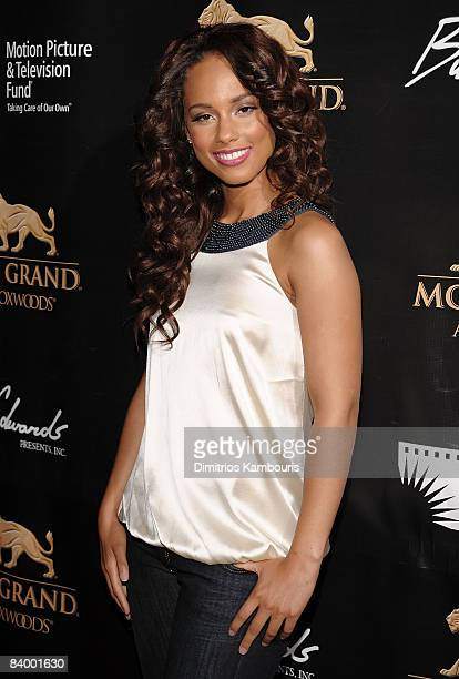 Musician Alicia Keys attends the Grand Opening Weekend Celebration at MGM Grand at Foxwoods Resort Casino on May 17 2008 in Ledyard CT