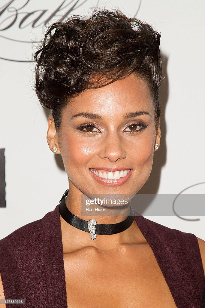Musician <a gi-track='captionPersonalityLinkClicked' href=/galleries/search?phrase=Alicia+Keys&family=editorial&specificpeople=169877 ng-click='$event.stopPropagation()'>Alicia Keys</a> attends the Keep A Child Alive's Black Ball Redux 2012 at The Apollo Theater on December 6, 2012 in New York City.