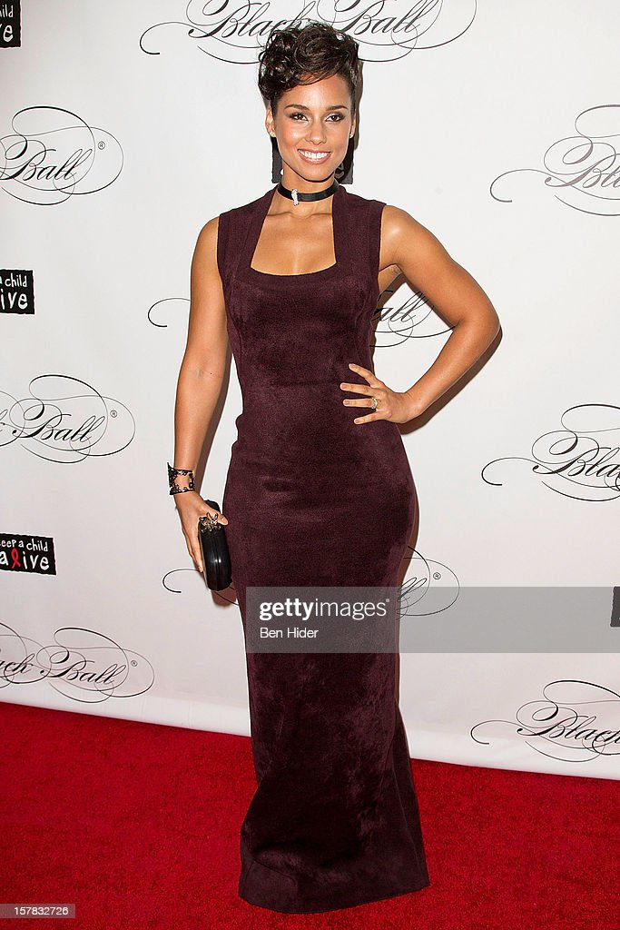 Musician Alicia Keys attends the Keep A Child Alive's Black Ball Redux 2012 at The Apollo Theater on December 6, 2012 in New York City.
