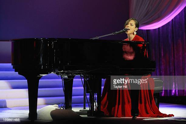 Musician Alicia Keys performs at the Inaugural Ball on January 21 2013 in Washington United States
