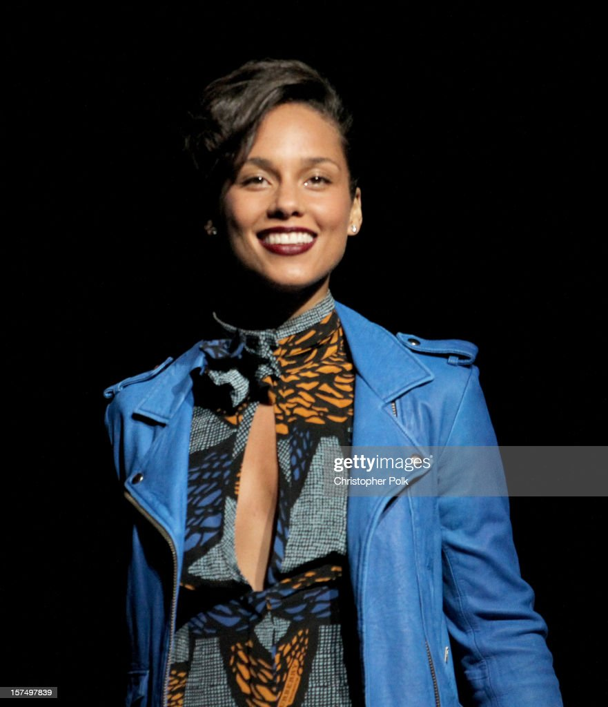 Musician <a gi-track='captionPersonalityLinkClicked' href=/galleries/search?phrase=Alicia+Keys&family=editorial&specificpeople=169877 ng-click='$event.stopPropagation()'>Alicia Keys</a> performs onstage during KIIS FM's 2012 Jingle Ball at Nokia Theatre L.A. Live on December 3, 2012 in Los Angeles, California.