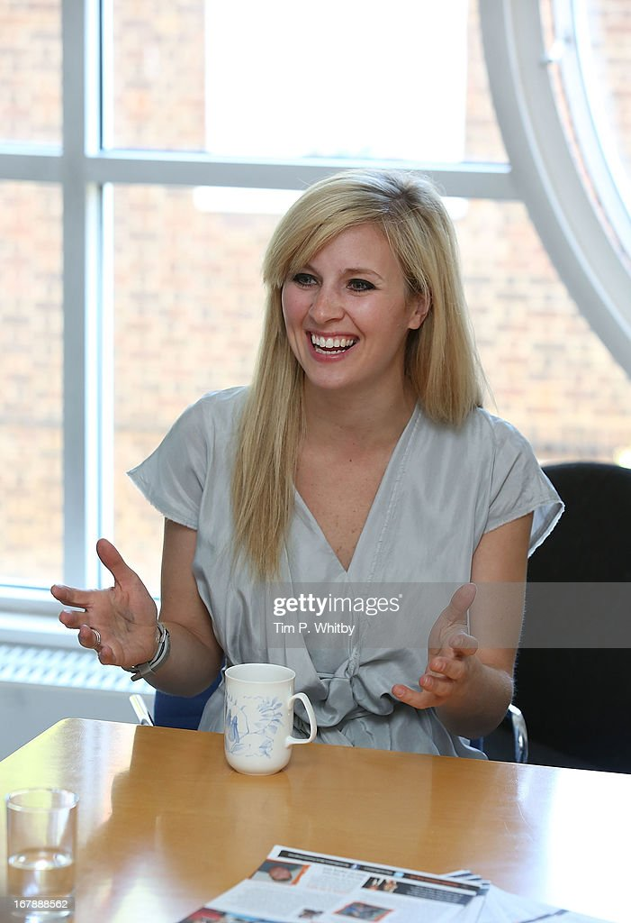 Musician <a gi-track='captionPersonalityLinkClicked' href=/galleries/search?phrase=Alison+Balsom&family=editorial&specificpeople=651462 ng-click='$event.stopPropagation()'>Alison Balsom</a> visits the Nordoff Robbins Music Therapy Centre on May 2, 2013 in London, England.